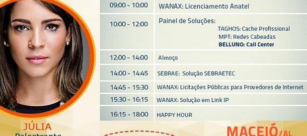 Belluno marca presença em evento da Wanax em Maceió/AL