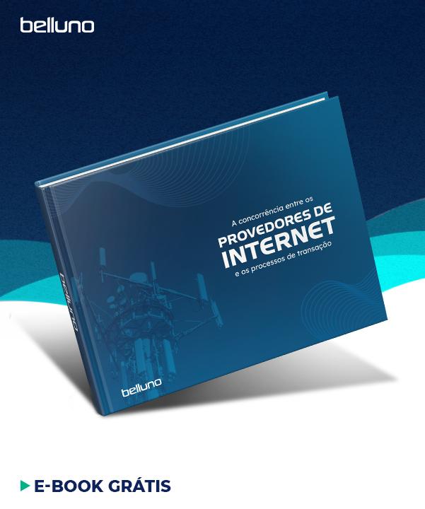 A concorrência entre provedores de internet e os processos de transação